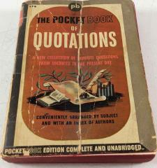 Pocket Book of Quotations, The