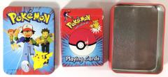 Pokemon Playing Cards w/Tin