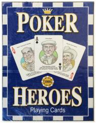 Poker Heroes Playing Cards Set