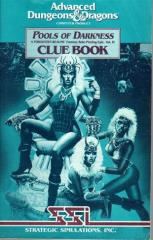 Pools of Darkness - Clue Book