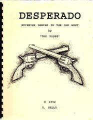 Desperado - Skirmish Gaming in the Old West