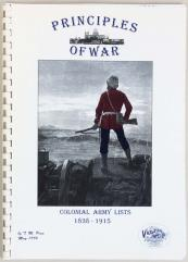19th Century Principles of War - Colonial Army Lists (1st Edition)