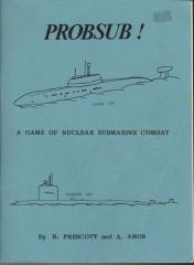 Probsub! - A Game of Nuclear Submarine Combat