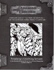 Crimson Codex RPGA Faction Adventure #1 - Prophecy's Unwitting Servant