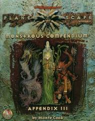 Monstrous Compendium Planescape Appendix #3