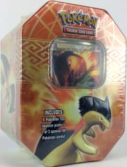Heart Gold & Soul Silver -Typhlosion Collector Tin