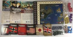 Quartermaster General Collection - Base Game + 2 Expansions!