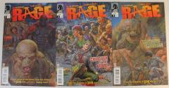 Rage - Complete Series, 3 Issues!