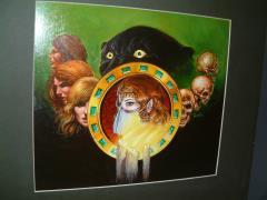 "TSR Rahasia - 11"" x 10"" Original Painting"