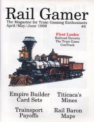 "#6 ""Empire Builder Card Sets, Titicaca's Mines, Rail Baron Maps"""