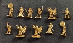 Ral Partha Limited Edition Gold Miniatures Collection - 11 Figures