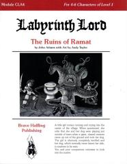 Labyrinth Lord - The Ruins of Ramat