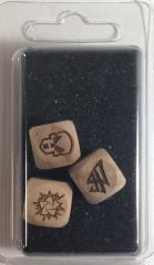 Set of 3 Elvish Block Dice