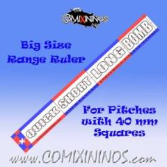 Range Ruler - Red/Blue