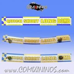 Range Ruler - Yellow/Blue