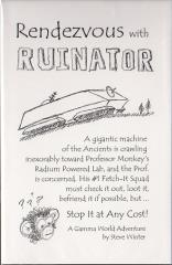Rendezvous with Ruinator (North Texas RPG Con 2012 Exclusive)