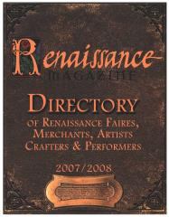 2008 Directory of Renaissance Faires, Merchants, Artists, Crafters & Performers