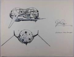 Renegade Legion Concept Sketch - Aldebanon-Class Transport