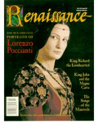 "#16 ""Portraits of Lorenzo Poccianti, King Richard, Songs of the Minstrels"""