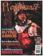 "#39 ""A Field Guide to Buying Armor, How to Make a Riveted Chainmail Shirt in Ten Easy Steps, The Lair of the Snark"""