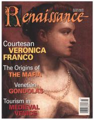 "#41 ""Tourism in Late Medieval Venice, Venice's Gondolas, Courtesan and Poetess Veronica Franco"""