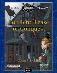 For Rent, Lease, or Conquest