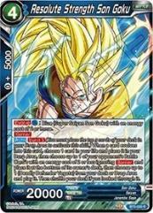 Resolute Strength Son Goku