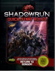 Return to Sender/Down and Out in the Barrens (Shadowrun/Battletech, Free RPG Day 2015)