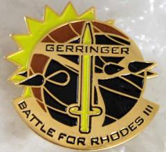Battle for Rhodes III Pin - Gerringer