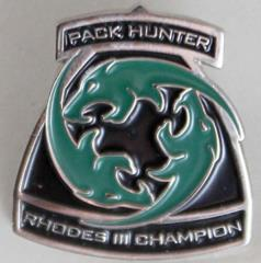 Champion of Rhodes III Pin - Pack Hunter