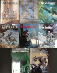 Rifts World Book Collection - 8 Books!