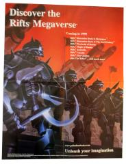 Rifts Warlords of Russia - Cover Art & Advertisement Poster