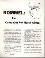 Rommel - The Campaign for North Africa