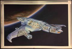 Romulan Ship Recognition Manual (2nd Edition) Original Cover Art