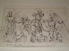 "#10 TSR AD&D - Dungeoneer's Survival Guide - 11"" x 7"" Original Pencil (Draft)"