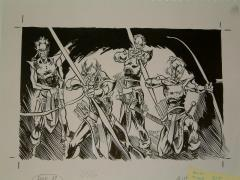 "#11 TSR AD&D - Dungeoneer's Survival Guide - 11"" x 7"" Original Ink"