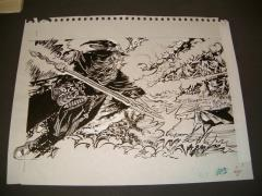 "#12 TSR D&D - C5 Mystery of the Snow Pearls - 12"" x 8"" Original Ink"