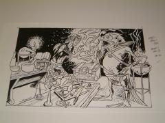 "#16 TSR AD&D - The Rod of Seven Parts - 11"" x 8"" Original Ink"