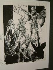 "#29 TSR AD&D - Dungeoneer's Survival Guide - 12"" x 16"" Original Ink"