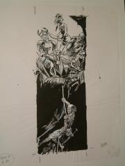 "#6 TSR AD&D - Dungeoneer's Survival Guide - 5.5"" x 14"" Original Ink"