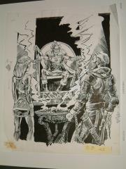 "#8 TSR AD&D - Dungeoneer's Survival Guide - 12"" x 15"" Original Ink"