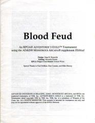 Series #2 - AD&D 2nd Edition - Blood Feud