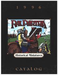 1996 Historical Miniatures Catalog