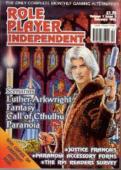 "Vol. 1, #3 ""Luther Arkwright, Call of Cthulhu, Paranoia"""