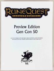 RuneQuest (Gen Con 50 Preview Edition)