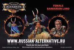 Female Barbarian Lord