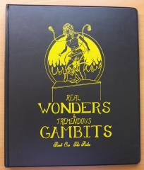 Real Wonders & Tremendous Gambits - The Rules (2nd Printing)