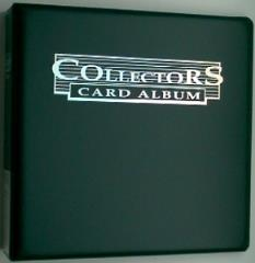 Collector's Card Album -Black