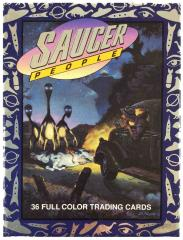 Saucer People Trading Cards