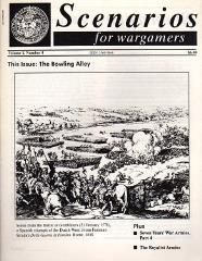 "Vol. 1, #4 ""The Bowling Alley, Seven Years' War Armies Part 4, The Royalist Armies"""